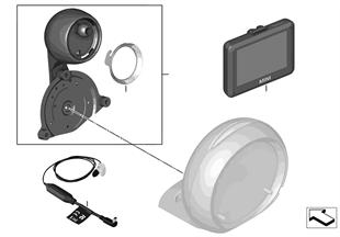 Retrofit kit MINI GPS Portable