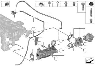 Reducción gas de escape refrigeración