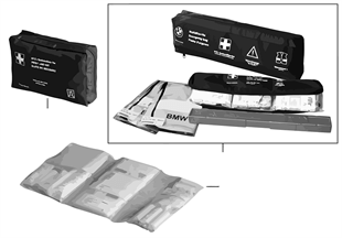 First-aid kit, universal