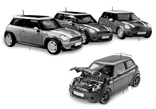 Miniaturen - MINI Cooper 2010/2011