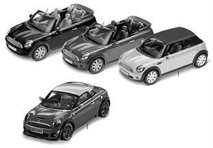 Miniaturen - Cabrio/Concept Car 2010/11