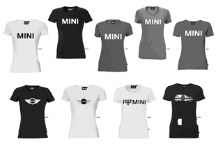 MINI Logo Line - Damen T-Shirt 2011/12