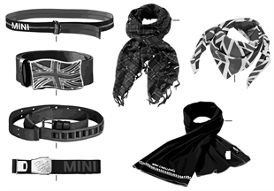 Essentials - Belt/Schals 2011/12