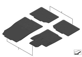 Floor mat, Allweather