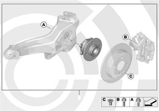 Kit cojinete ruedas traseras/Value Line