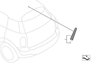 Antena de varilla SPORT