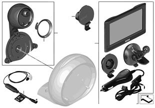 Retrofit kit MINI Navigation Portable XL