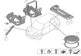Εξαρτήματα συναρμολόγησης αμαξώματος