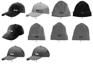 MINI Logo Line σκούφοι κ.καπέλα 2013-16