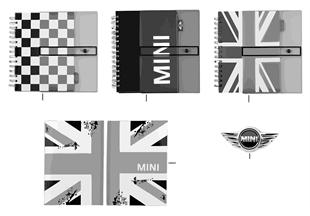 MINI Essentials Calendar/Notebooks 13/14