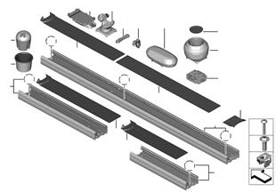 Aanbouwdelen middenconsole