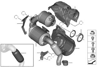 Catalizador/Filtro partículas Diesel
