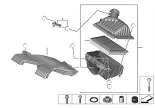 Σιγαστήρας εισαγωγής / οδηγός αέρα