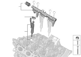 Συλλέκτης καυσίµου υψηλής πίεσης / μπεκ