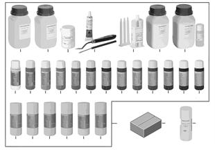 Kit de réparation cuir
