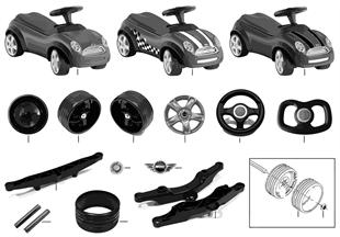 MINI Repl. parts - BabyRacer II 0394900