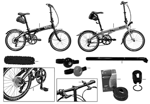 MINI Ersatzteile - Folding Bike