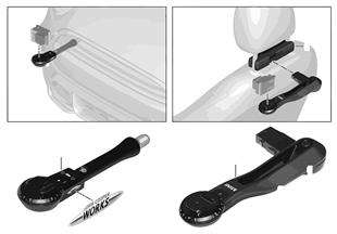 MINI Action-Cam bracket