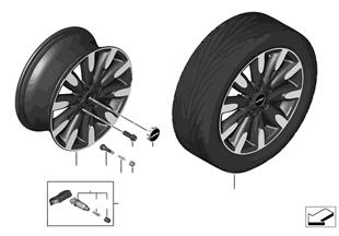 """Mini LM Rad Roulette Spoke 502 - 17"""""""