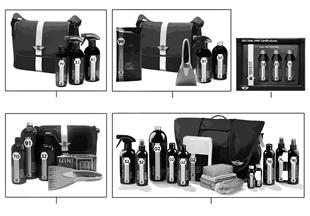 Kits de produits d'entretien