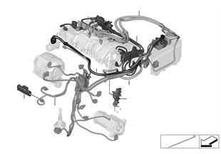 Kabelbaum Motor